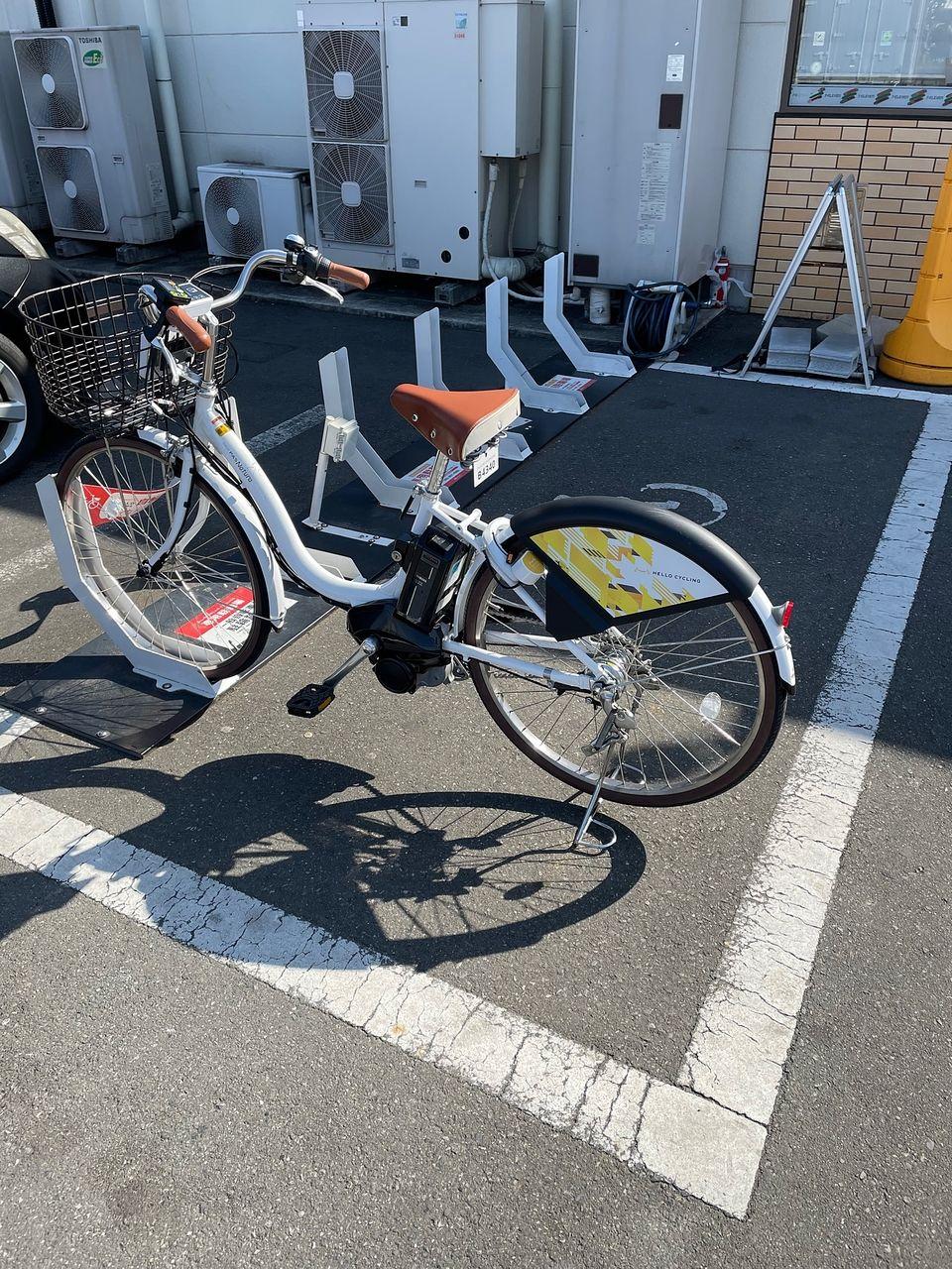 新たな移動手段ハローサイクリング(^^♪